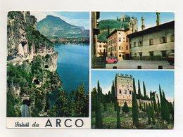 Arco (Trento) - Saluti Da - Cartolina Multipanoramica - Viaggiata Nel 1962 - (FDC16433) - Trento