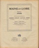 ANNUAIRE - 49 - Département Maine Et Loire - Année 1946 - édition Didot-Bottin - 134 Pages - Annuaires Téléphoniques