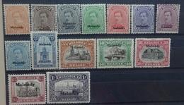 BELGIE  1920   Bezettingszegels   OC 62 - 75     Postfris **  CW  107,00 - WW I