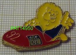 BANQUE   CREDIT LYONNAIS   CL   LION Sur BOBSLEIGH BOB JO 92 ALBERTVILLE - Banques