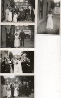 TROUW  FOTOS      6.50 OP 9 CM    (  KOMEN UIT  ALBUM     A. ELSOCHOT  PLAFONNEERING   UCCLE ) - Photographs