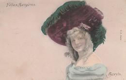 Cabarets : Folies Bergères : BERYLS : Portrait Colorisé - Kabarett