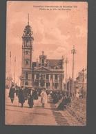 Brussel - Exposition Internationale De Bruxelles 1910 - Palais De La Ville De Bruxelles - Animée - Expositions Universelles
