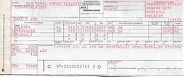 Billet D'avion KLM  Atlanta (USA) - Amsterdam - Bruxelles - Tickets