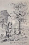 619 Les Envitons De Tournai Autrefois Moulin Batard A Kain - Water Mills