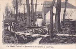619 Combreuil Les Chutes D Eau Et Des Promenades Du Moulin - Water Mills