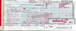 Billet D'avion SWISSAIR  Bruxelles - Zurich - Damascus (Syrie) - Frankfurt - Bruxelles - Tickets