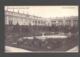 Brussel - Exposition De Bruxelles 1910 - Section Française - Sans éditeur - Expositions Universelles