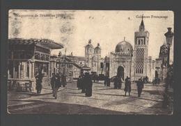 Brussel - Exposition De Bruxelles 1910 - Colonies Française - Sans éditeur - Très Animée - Expositions Universelles