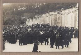 CPA PHOTO 30 - NIMES - SUPERBE PLAN En CP Photographique D'un CONCERT KIOSQUE Jardin De La Fontaine 1912 - Nîmes