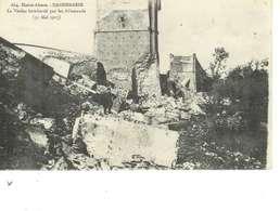 Cpa 68 Dannemarie , Ww1 , Destruction Du Viaduc , écrite 1917 - Dannemarie