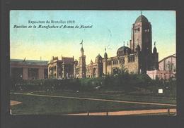 Brussel - Exposition De Bruxelles 1910 - Pavillon De La Manufacture D'Armes De Herstal - Expositions Universelles