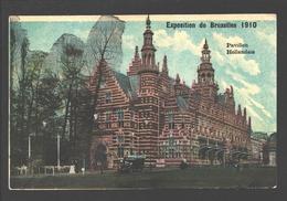 Brussel - Exposition De Bruxelles 1910 - Pavillon Hollandais - Carte Vernie - Expositions Universelles