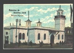 Brussel - Exposition De Bruxelles 1910 - Pavillon Algerien - Carte Vernie - Expositions Universelles