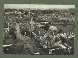 CARTE POSTALE 59 NORD   BAUVIN EN AVION AU DESSUS DE L EGLISE ET LE MONUMENT - Autres Communes