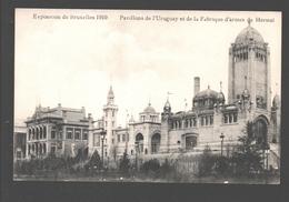 Brussel - Exposition De Bruxelles 1910 - Pavillons D'Uruguay Et De La Fabrique D'Armes De Herstal - Expositions Universelles