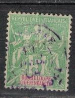 GUADELOUPE            N°     YVERT     40     OBLITERE       ( Ob  5/02 ) - Guadeloupe (1884-1947)