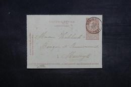 BELGIQUE - Entier Postal De Diest En 1894 - L 37546 - Letter-Cards