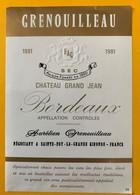 11224 - Château Grand Jean 1981 - Bordeaux