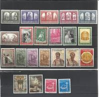 Vaticano. 5 Series Completas - Sellos