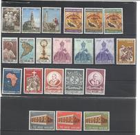 Vaticano. 7 Series Completas De Los Años 60 - Sellos
