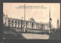 Brussel - Exposition Universelle De Bruxelles 1910 - Façade Principale Et La Tour De Palais De Bruxelles - Expositions Universelles