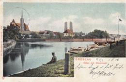AK - Polen - Breslau (Wroclaw) - Die Oder Mit Dominsel - 1906 - Polen