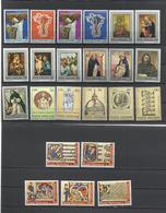 Vaticano. 1971 Y 1972. Lote De 6 Series Completas - Sellos