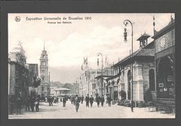 Brussel - Exposition Universelle De Bruxelles 1910 - Avenue Des Nations - Animation - Expositions Universelles