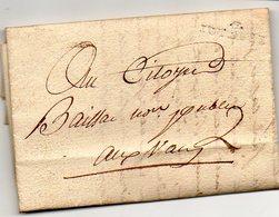 H9  LAC 6 Joyeuse Ardeche An 9 Presque 'a Sec' - 1792-1815: Conquered Departments