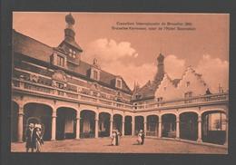 Brussel - Exposition Internationale De Bruxelles 1910 - Bruxelles-Kermesse, Cour De L'Hôtel Ravenstein - Expositions Universelles