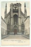 Louvain - Leuven - L'Eglise  ( 2 Scans )verzonden - Leuven