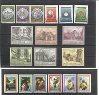 Vaticano. Lote De 4 Series Completas Años 70 - Sellos