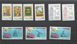 Vaticano. Lote De 3 Series Completas Años 70 - Sellos