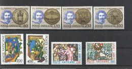 Vaticano. 1980. Lote De 3 Series Completas - Sellos