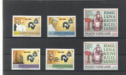 Vaticano. 1981. Lote De 2 Series Completas - Sellos