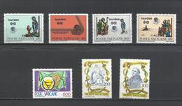 Vaticano. 1981. Lote De 3 Series Completas - Sellos
