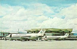 "Aeropuerto (Aeroporto) Terminal Building Of Airport ""La Aurora"" Guatemala, Served Daily By Taca International Jets - Aerodromi"