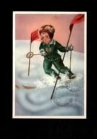 Cartolina Illustrativa Affrancatura S148 Sassone - Cartoline Umoristiche
