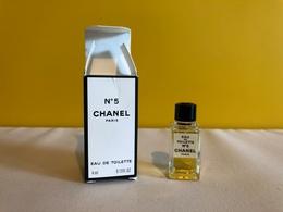 Chanel  Nº5 - Miniaturen Flesjes Dame (met Doos)