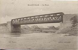 X121361 MANCHE BLAINVILLE LE PONT - Blainville Sur Mer