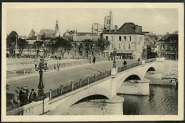 CP 89 Sens -  Le Nouveau Pont, Vue Générale 1948 - Sens