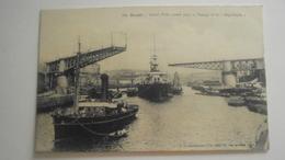 Brest Grand Pont Ouvert Le Passage De La Republique - Brest