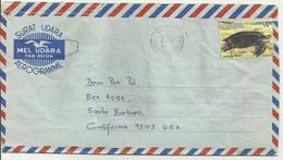 Aerogramme TP Tortue - Malaysia (1964-...)