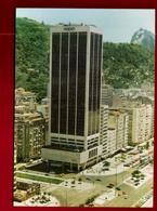 CP Brésil Copacabana Rio De Janeiro Hôtel Méridien Air France - Tour Immeuble Architecture ... - Copacabana