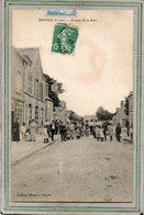 CPA - BOYNES (45) - Aspect Du Café De La Gare Et De L'avenue De La Gare Au Début Du Siècle - Other Municipalities
