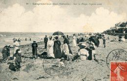 FRANCE - LANGRUNE-sur-MER Sur La Plage Papres-midi 1907 - France