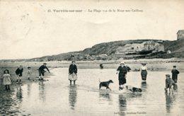FRANCE - VIERVILLE-sur-MER.  La Plage Vue De La Noue Aux Caillous 1923 - France