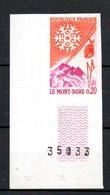 France Beau N° 1306a **.  A Saisir !!! - Imperforates
