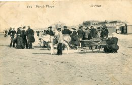 FRANCE -   BERCK-PLAGE.  Le Plage - Berck